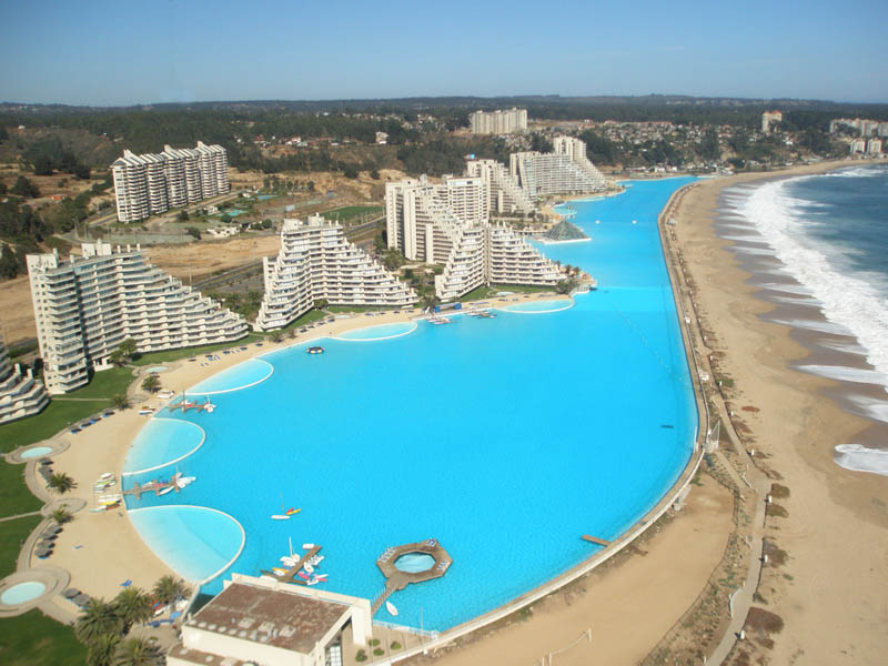 san alfonso del mar aerial satellite from above algarrobo chile 5 The Largest Swimming Pool in the World