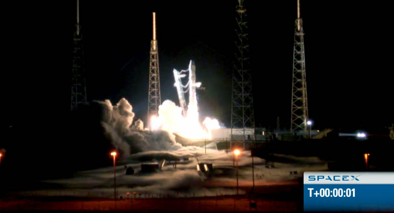spacex f9 rocket launch may 22 2012 historic 3 The Historic SpaceX Mission