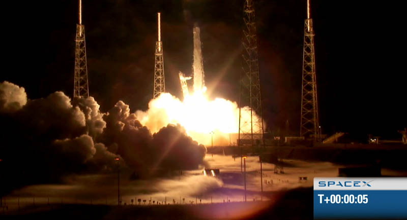 spacex f9 rocket launch may 22 2012 historic 4 The Historic SpaceX Mission