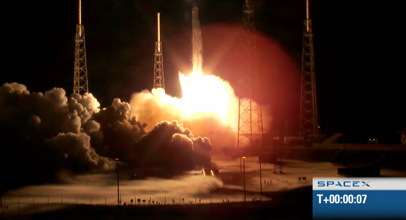 spacex f9 rocket launch may 22 2012 historic 5 The Historic SpaceX Mission