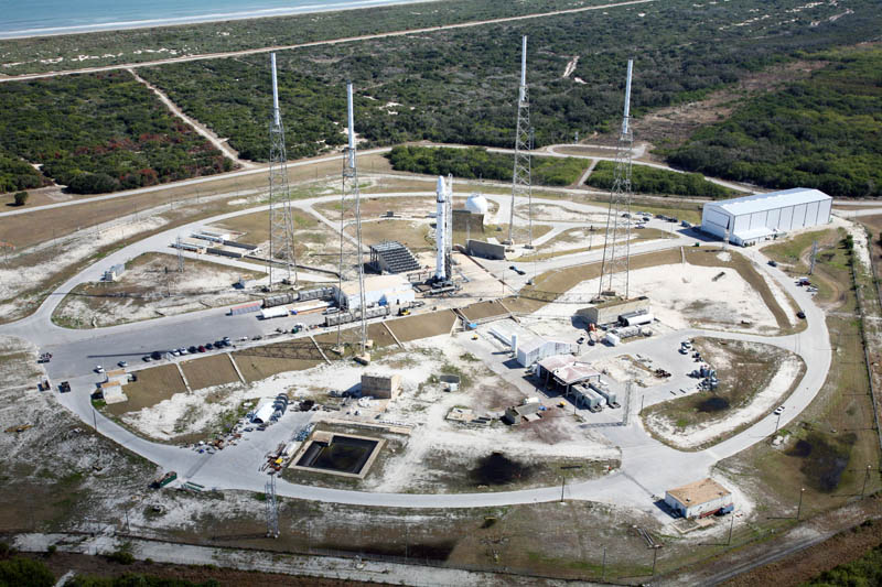 spacex launch site cape caneveral florida 1 The Historic SpaceX Mission