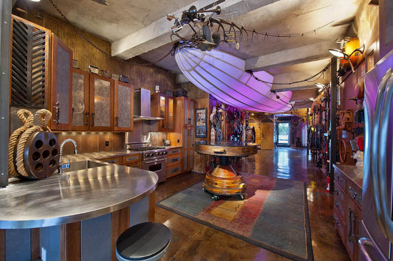 steampunk apartment new york city 11 Crazy Steampunk Apartment in New York City