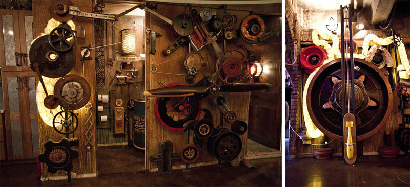 steampunk apartment new york city 12 Crazy Steampunk Apartment in New York City