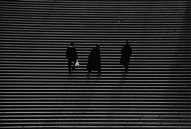 steps black and white high contrast Picture of the Day: Stairway to Contrast