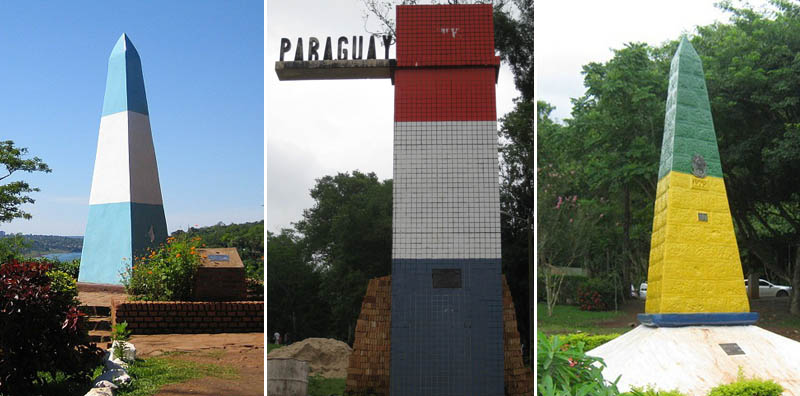 triple frontier brazil argentina paraguay tripoint1 Where Three Countries Meet: Famous Tripoints Around the World