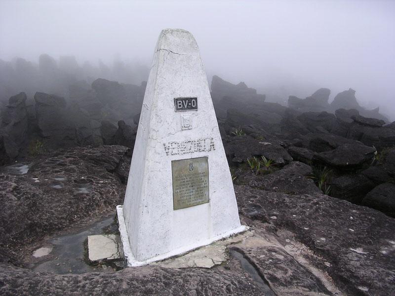 tripoint monte roraima brazil guyana venezuela Where Three Countries Meet: Famous Tripoints Around the World