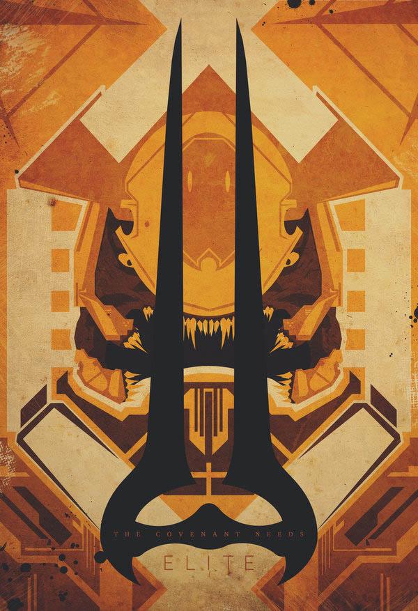 video game movie posters ron guyatt convenant 14 Creative Video Game Inspired Movie Posters