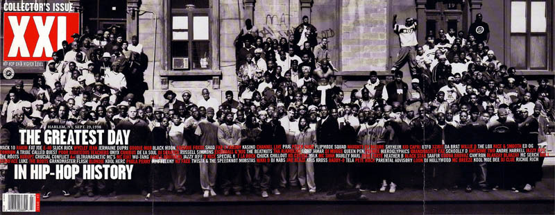 xxl greatest day in hip hop history harlem 1998 The Most Epic Group Photos You Will See Today