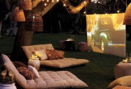 Picture of the Day: Beautiful Backyard Home Theatre