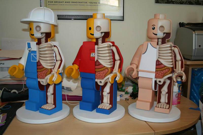 anatomy of a lego man jason freeny 1 The Anatomy of a LEGO Man