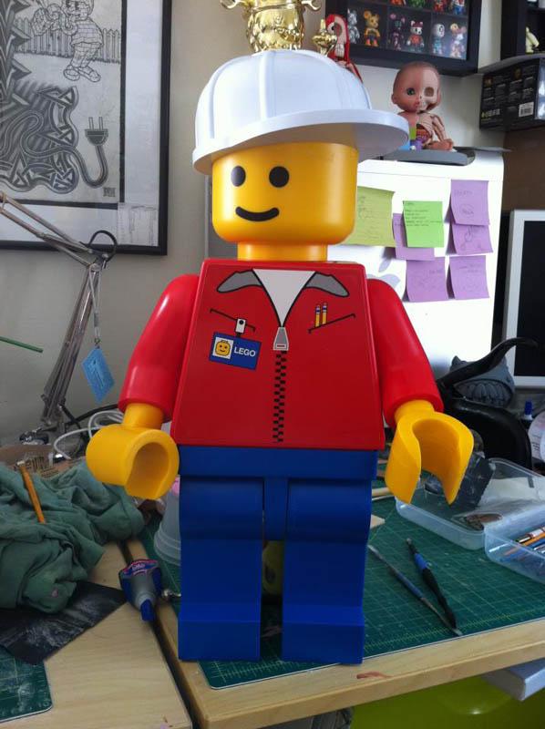 the anatomy of a lego man before the dissection