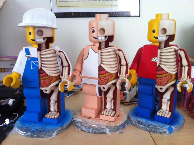 anatomy of a lego man jason freeny 3 The Anatomy of a LEGO Man