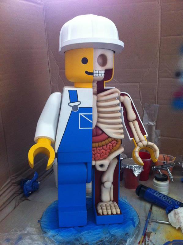 anatomy of a lego man jason freeny 8 The Anatomy of a LEGO Man