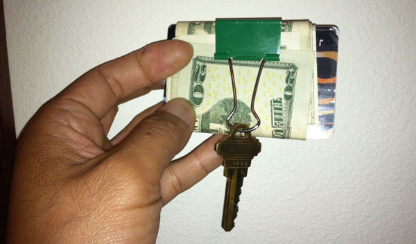 binder money clip 50 Creative Ways to Repurpose, Reuse and Upcycle Old Things