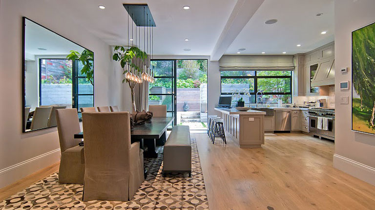edwardian home modern interior presidio heights san francisco teed haze 3481 washington street 3 Beautiful Edwardian Home with Modern Interior