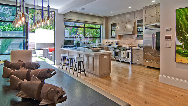 edwardian home modern interior presidio heights san francisco teed haze 3481 washington street 4 Beautiful Edwardian Home with Modern Interior