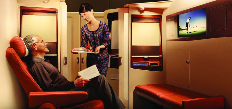 first class suites singapore airlines a380 1 The Private Suites on Singapore Airlines