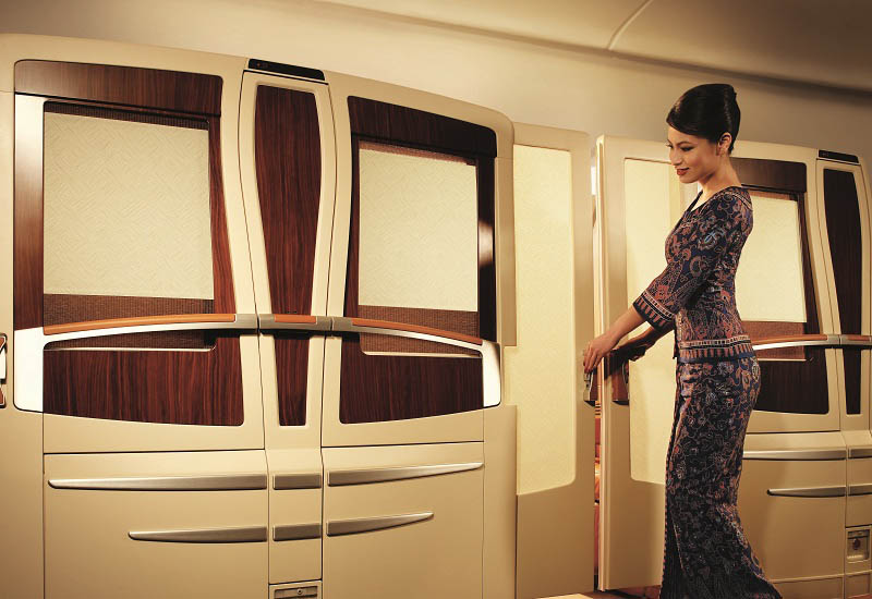 first class suites singapore airlines a380 10 The Private Suites on Singapore Airlines