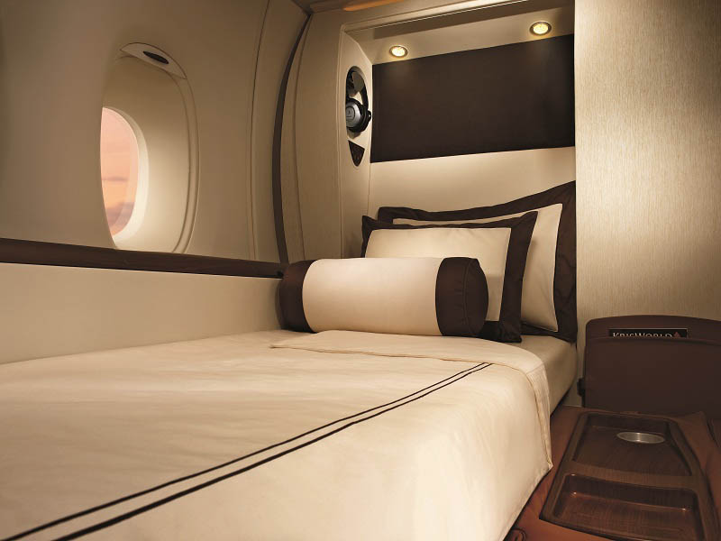 first class suites singapore airlines a380 6 The Private Suites on Singapore Airlines