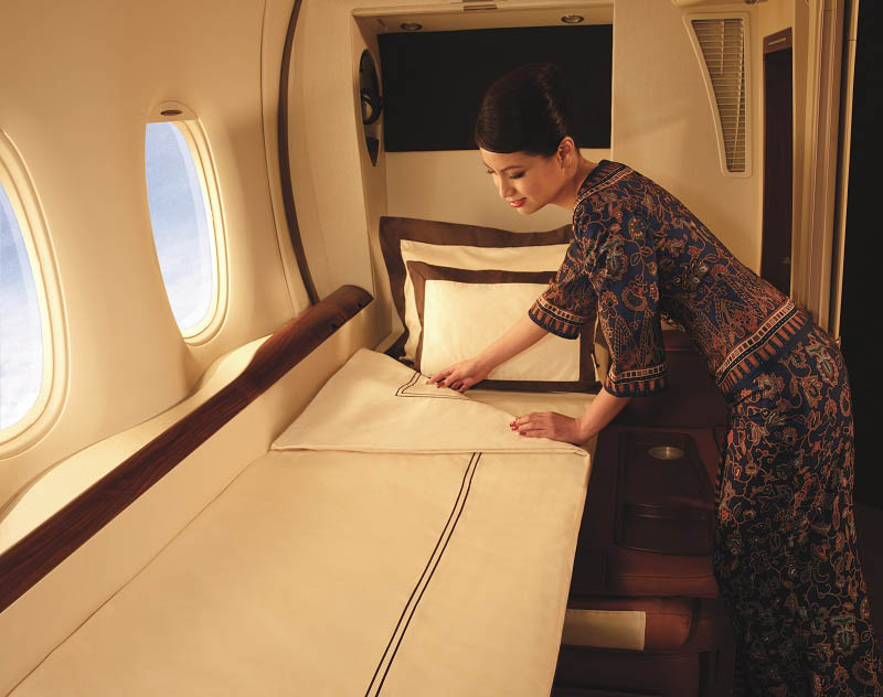 first class suites singapore airlines a380 9 The Private Suites on Singapore Airlines