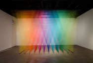 6 Amazing Color Spectrums Made from Thread