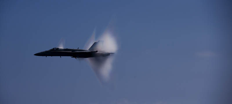 going supersonic mach 1 sound barrier 10 40 Photos of Airplanes Breaking the Sound Barrier