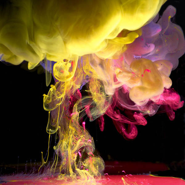 ink in water aqueous series mark mawson 2 Ink Explosions Under Water by Mark Mawson