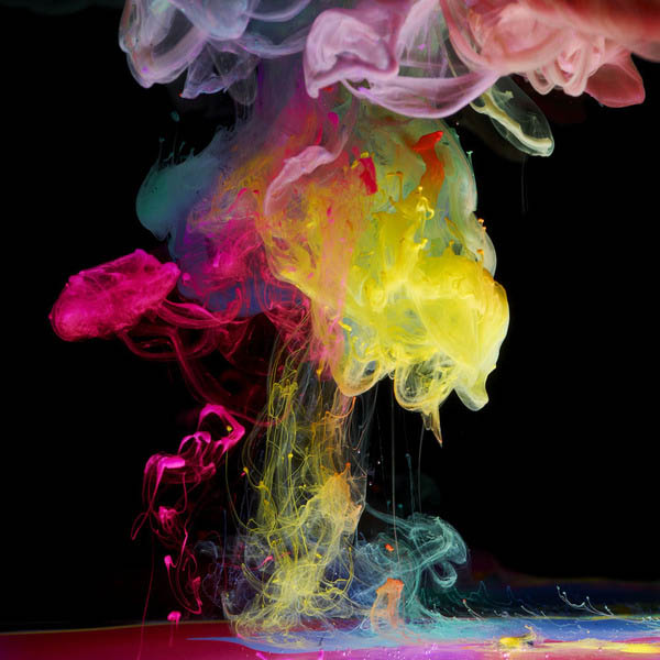ink in water aqueous series mark mawson 3 Ink Explosions Under Water by Mark Mawson