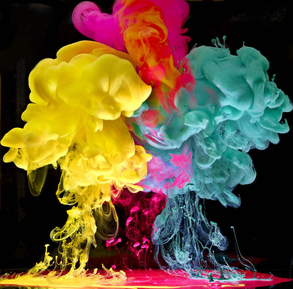 ink in water aqueous series mark mawson 5 Ink Explosions Under Water by Mark Mawson