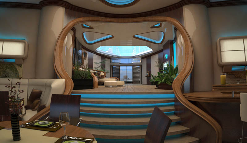 man made floating island boat orsos 14 Orsos: The Moveable Floating Island