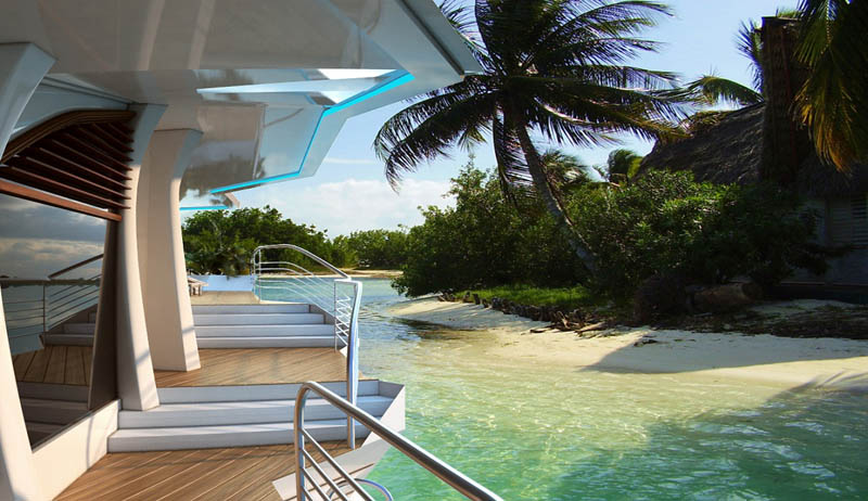 man made floating island boat orsos 18 Orsos: The Moveable Floating Island