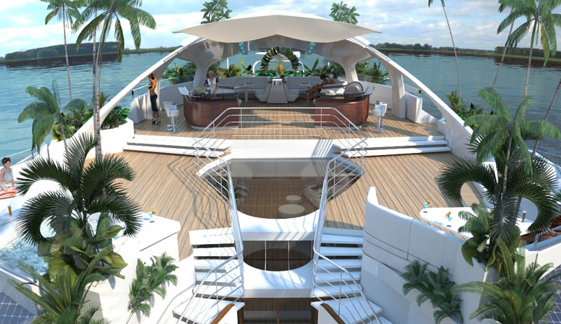 man made floating island boat orsos 22 Orsos: The Moveable Floating Island