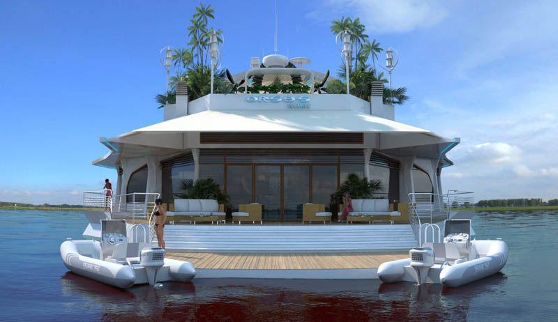 man made floating island boat orsos 25 Orsos: The Moveable Floating Island