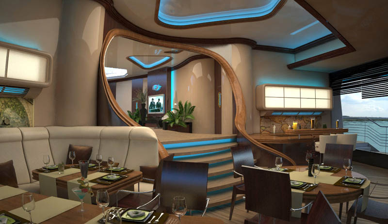 man made floating island boat orsos 26 Orsos: The Moveable Floating Island