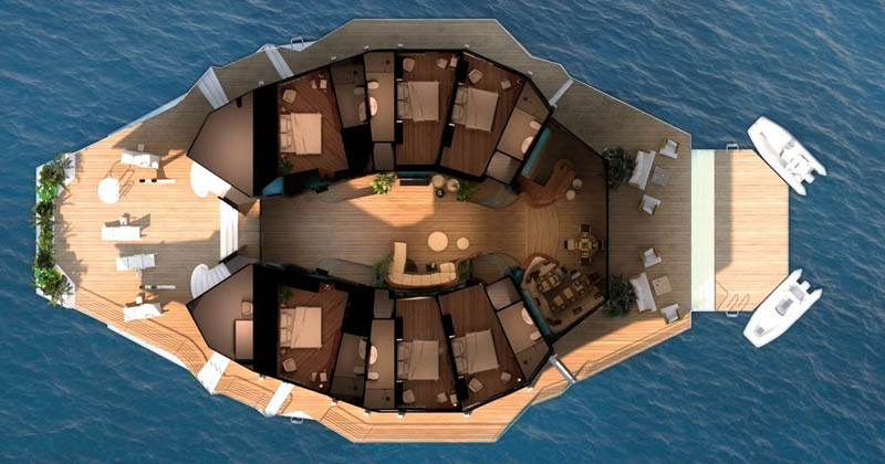 man made floating island boat orsos 31 Orsos: The Moveable Floating Island