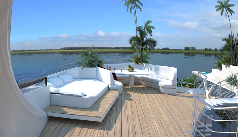 man made floating island boat orsos 7 Orsos: The Moveable Floating Island