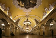 Picture of the Day: Moscow Metro's Komsomolskaya Station