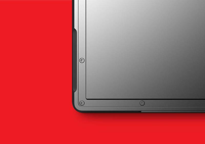 closeup of microsoft surface tablet casing