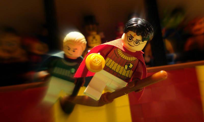 recreating movie scenes from lego alex eylar harry potter Recreating Famous Movie Scenes with Lego