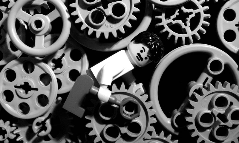 recreating movie scenes from lego alex eylar modern times Recreating Famous Movie Scenes with Lego