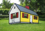 This House by Roy Lichenstein Will Trip You Out