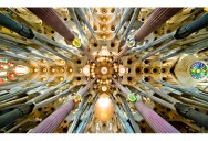 Picture of the Day: The Ceiling of Sagrada Familia
