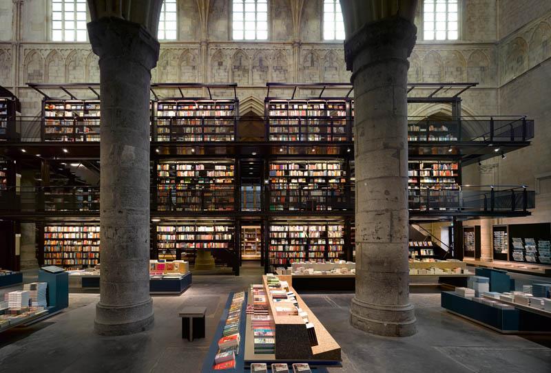 selexyz dominicanen bookstore church conversion netherlands 3 The Worlds Most Beautiful Bookstore