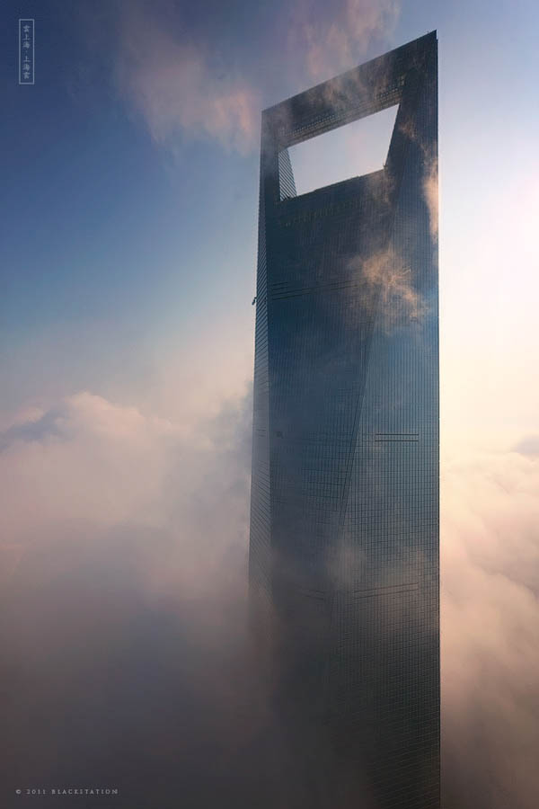 shangai skyscrapers above the clouds jin mao tower swfc blackstation 8 The Curvaceous Marilyn Monroe Absolute Towers