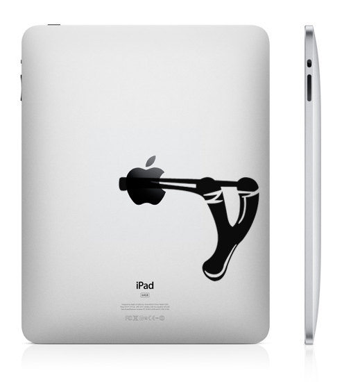 slingshot funny creative ipad decal 33 Creative Decals for your iPad