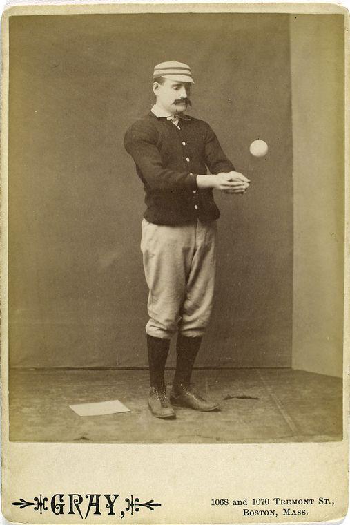 Joe Mulvey catching a ball looking sad