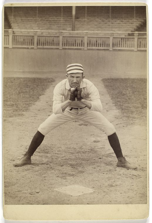 strange funny vintage baseball photos from the 1800s 27 Strangely Awesome Baseball Photos from the 1800s
