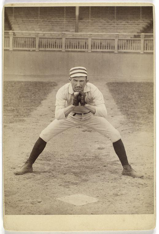 strange funny vintage baseball photos from the 1800s 27 Strangely Awesome Baseball Photos from the 1800s