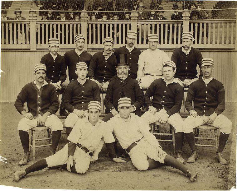 Philadelphia Baseball Club, 1887 team photo