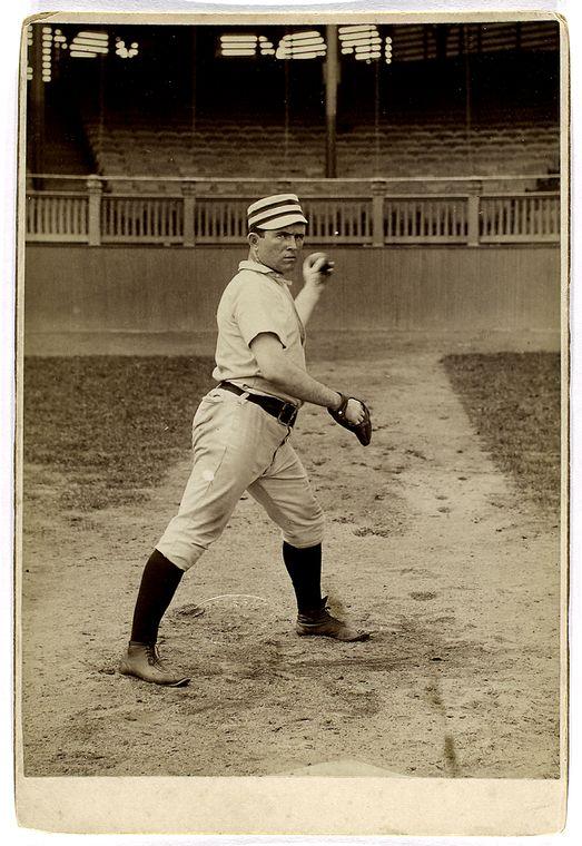 baseball player jack clements striking a pose